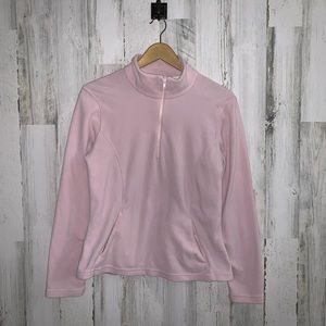 ✭ 3/$25 Prana quarter zip up fleece pullover jacke
